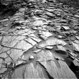 Nasa's Mars rover Curiosity acquired this image using its Right Navigation Camera on Sol 2729, at drive 660, site number 79