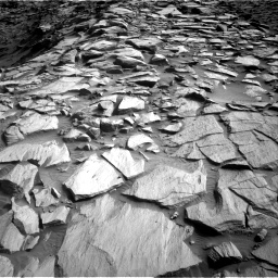 Nasa's Mars rover Curiosity acquired this image using its Right Navigation Camera on Sol 2729, at drive 684, site number 79