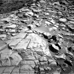 Nasa's Mars rover Curiosity acquired this image using its Right Navigation Camera on Sol 2729, at drive 708, site number 79