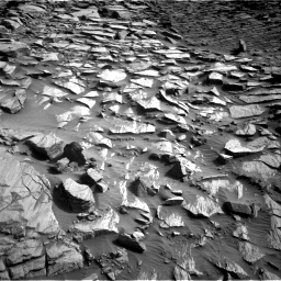 Nasa's Mars rover Curiosity acquired this image using its Right Navigation Camera on Sol 2729, at drive 714, site number 79