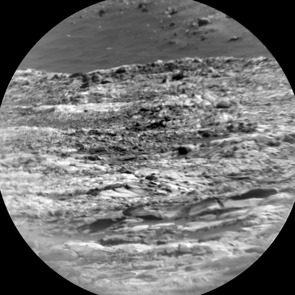 Nasa's Mars rover Curiosity acquired this image using its Chemistry & Camera (ChemCam) on Sol 2729, at drive 654, site number 79