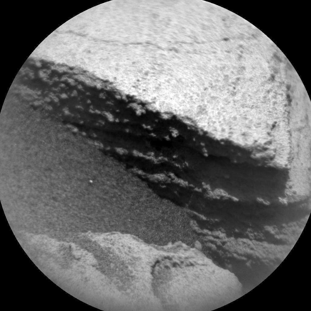 Nasa's Mars rover Curiosity acquired this image using its Chemistry & Camera (ChemCam) on Sol 2730, at drive 720, site number 79