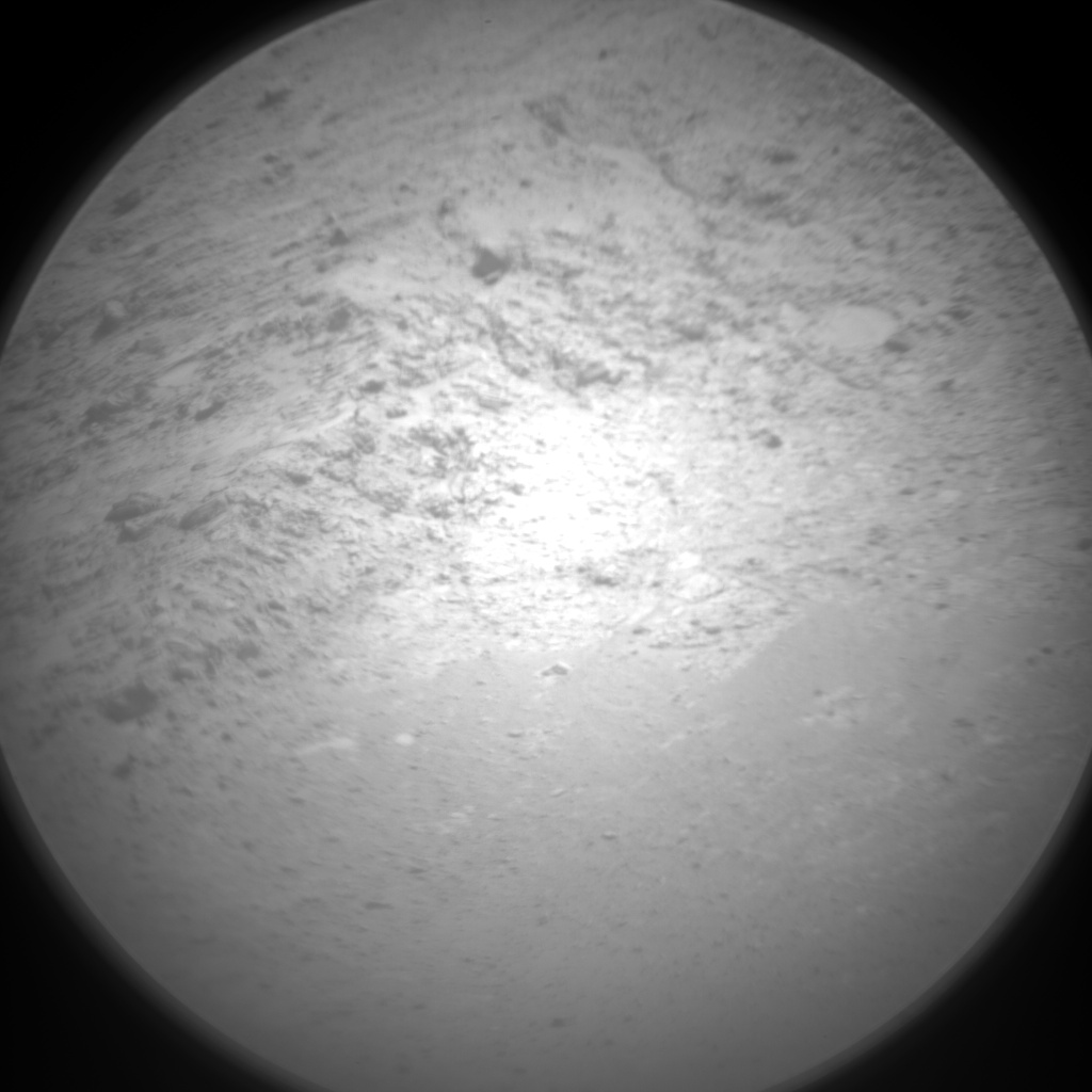 Nasa's Mars rover Curiosity acquired this image using its Chemistry & Camera (ChemCam) on Sol 2731, at drive 720, site number 79