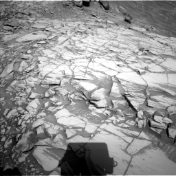 Nasa's Mars rover Curiosity acquired this image using its Left Navigation Camera on Sol 2732, at drive 756, site number 79