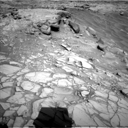 Nasa's Mars rover Curiosity acquired this image using its Left Navigation Camera on Sol 2732, at drive 786, site number 79
