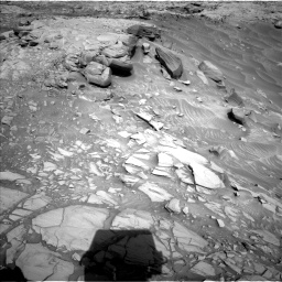Nasa's Mars rover Curiosity acquired this image using its Left Navigation Camera on Sol 2732, at drive 792, site number 79