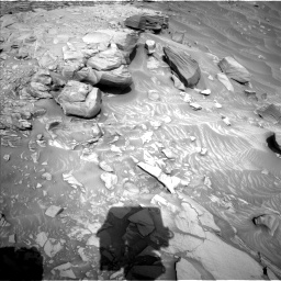 Nasa's Mars rover Curiosity acquired this image using its Left Navigation Camera on Sol 2732, at drive 804, site number 79