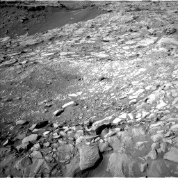 Nasa's Mars rover Curiosity acquired this image using its Left Navigation Camera on Sol 2732, at drive 840, site number 79