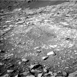 Nasa's Mars rover Curiosity acquired this image using its Left Navigation Camera on Sol 2732, at drive 852, site number 79