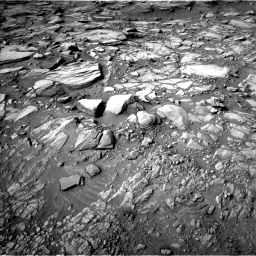 Nasa's Mars rover Curiosity acquired this image using its Left Navigation Camera on Sol 2732, at drive 900, site number 79