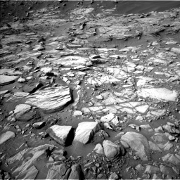 Nasa's Mars rover Curiosity acquired this image using its Left Navigation Camera on Sol 2732, at drive 906, site number 79