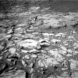 Nasa's Mars rover Curiosity acquired this image using its Left Navigation Camera on Sol 2732, at drive 918, site number 79