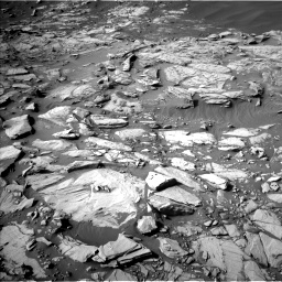 Nasa's Mars rover Curiosity acquired this image using its Left Navigation Camera on Sol 2732, at drive 924, site number 79