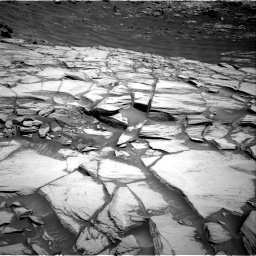 Nasa's Mars rover Curiosity acquired this image using its Right Navigation Camera on Sol 2732, at drive 726, site number 79