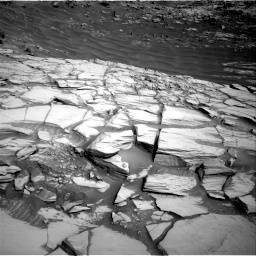 Nasa's Mars rover Curiosity acquired this image using its Right Navigation Camera on Sol 2732, at drive 744, site number 79