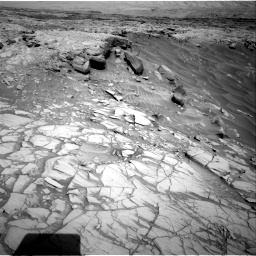 Nasa's Mars rover Curiosity acquired this image using its Right Navigation Camera on Sol 2732, at drive 780, site number 79