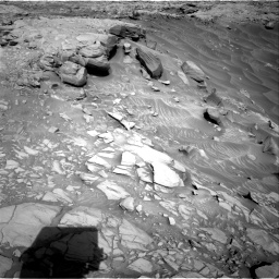 Nasa's Mars rover Curiosity acquired this image using its Right Navigation Camera on Sol 2732, at drive 792, site number 79