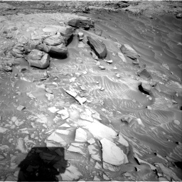 Nasa's Mars rover Curiosity acquired this image using its Right Navigation Camera on Sol 2732, at drive 798, site number 79