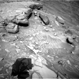 Nasa's Mars rover Curiosity acquired this image using its Right Navigation Camera on Sol 2732, at drive 804, site number 79