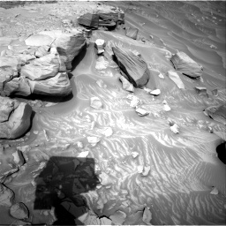 Nasa's Mars rover Curiosity acquired this image using its Right Navigation Camera on Sol 2732, at drive 810, site number 79