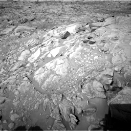 Nasa's Mars rover Curiosity acquired this image using its Right Navigation Camera on Sol 2732, at drive 828, site number 79