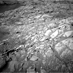 Nasa's Mars rover Curiosity acquired this image using its Right Navigation Camera on Sol 2732, at drive 834, site number 79