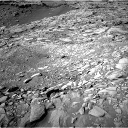 Nasa's Mars rover Curiosity acquired this image using its Right Navigation Camera on Sol 2732, at drive 840, site number 79