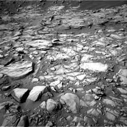 Nasa's Mars rover Curiosity acquired this image using its Right Navigation Camera on Sol 2732, at drive 906, site number 79