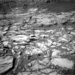 Nasa's Mars rover Curiosity acquired this image using its Right Navigation Camera on Sol 2732, at drive 912, site number 79