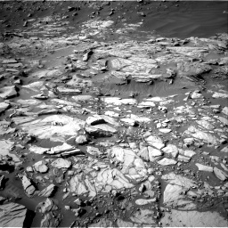 Nasa's Mars rover Curiosity acquired this image using its Right Navigation Camera on Sol 2732, at drive 918, site number 79