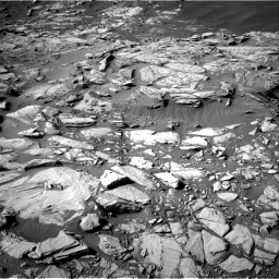Nasa's Mars rover Curiosity acquired this image using its Right Navigation Camera on Sol 2732, at drive 924, site number 79