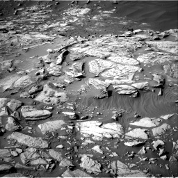 Nasa's Mars rover Curiosity acquired this image using its Right Navigation Camera on Sol 2732, at drive 930, site number 79
