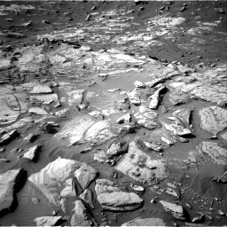 Nasa's Mars rover Curiosity acquired this image using its Right Navigation Camera on Sol 2732, at drive 942, site number 79