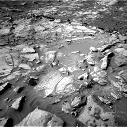 Nasa's Mars rover Curiosity acquired this image using its Right Navigation Camera on Sol 2732, at drive 948, site number 79