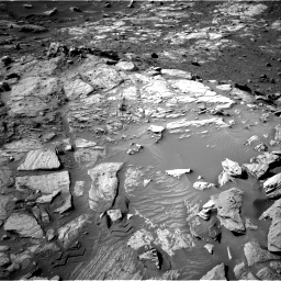 Nasa's Mars rover Curiosity acquired this image using its Right Navigation Camera on Sol 2732, at drive 954, site number 79