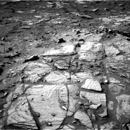 Nasa's Mars rover Curiosity acquired this image using its Right Navigation Camera on Sol 2732, at drive 966, site number 79