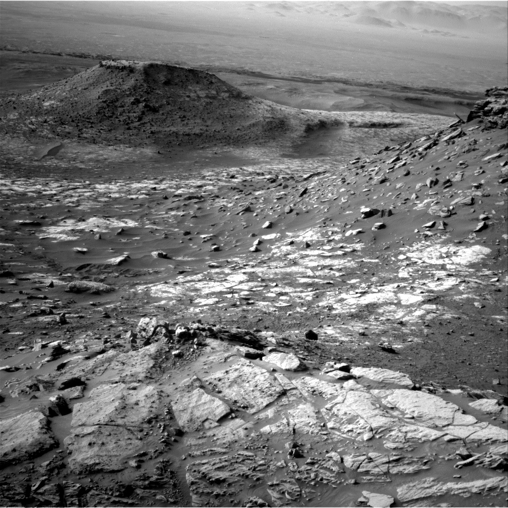 Nasa's Mars rover Curiosity acquired this image using its Right Navigation Camera on Sol 2732, at drive 972, site number 79