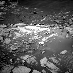 Nasa's Mars rover Curiosity acquired this image using its Left Navigation Camera on Sol 2734, at drive 1012, site number 79