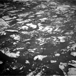 Nasa's Mars rover Curiosity acquired this image using its Left Navigation Camera on Sol 2734, at drive 1108, site number 79