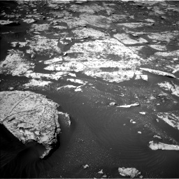 Nasa's Mars rover Curiosity acquired this image using its Left Navigation Camera on Sol 2734, at drive 1126, site number 79