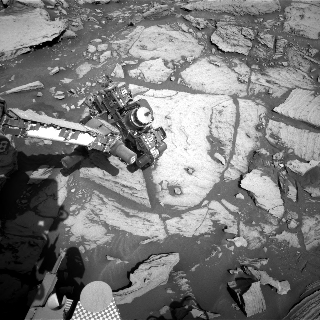 Nasa's Mars rover Curiosity acquired this image using its Right Navigation Camera on Sol 2734, at drive 972, site number 79