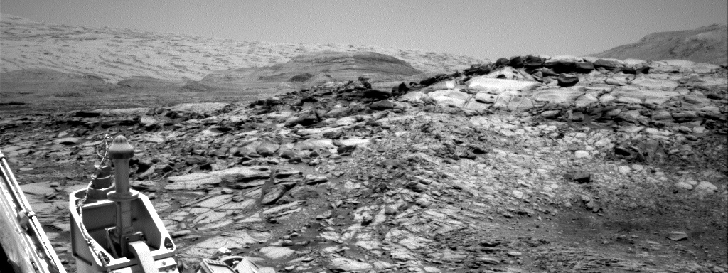 Nasa's Mars rover Curiosity acquired this image using its Right Navigation Camera on Sol 2734, at drive 994, site number 79