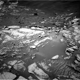 Nasa's Mars rover Curiosity acquired this image using its Right Navigation Camera on Sol 2734, at drive 1012, site number 79