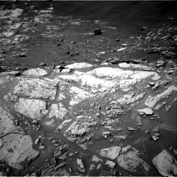 Nasa's Mars rover Curiosity acquired this image using its Right Navigation Camera on Sol 2734, at drive 1018, site number 79
