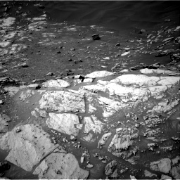 Nasa's Mars rover Curiosity acquired this image using its Right Navigation Camera on Sol 2734, at drive 1024, site number 79