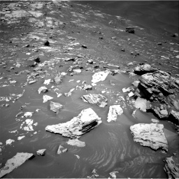 Nasa's Mars rover Curiosity acquired this image using its Right Navigation Camera on Sol 2734, at drive 1042, site number 79