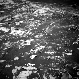 Nasa's Mars rover Curiosity acquired this image using its Right Navigation Camera on Sol 2734, at drive 1102, site number 79