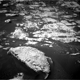 Nasa's Mars rover Curiosity acquired this image using its Right Navigation Camera on Sol 2734, at drive 1132, site number 79