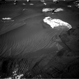 Nasa's Mars rover Curiosity acquired this image using its Right Navigation Camera on Sol 2734, at drive 1180, site number 79
