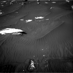 Nasa's Mars rover Curiosity acquired this image using its Right Navigation Camera on Sol 2734, at drive 1192, site number 79